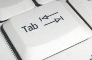 کلید Tab و معکوس آن در ویندوز