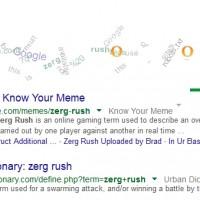 حروف O موجود در گوگل را نابود کرده و مانع آن ها شوید