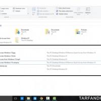 جلوگیری از نمایش فایل و پوشه های اخیرا باز شده در قسمت Quick Access