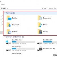 حذف پوشه های Library از محیط This PC ویندوز ۱۰