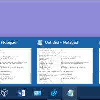 آموزش تنظیم دکمه های تسک بار جهت نشان دادن آخرین پنجره فعال برنامه