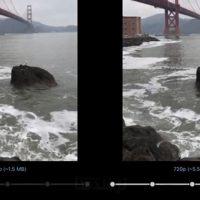 تغییر درجه فشرده سازی ویدیو و پیش نمایش لحظه ای آن در تلگرام