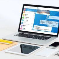 آموزش تصویری فارسی کردن تلگرام دسکتاپ