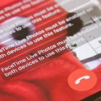 آموزش گرفتن لایو فوتو در هنگام تماس ویدیویی فیس تایم