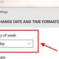 چگونه روز اول هفته را در تقویم ویندوز تنظیم کنیم؟