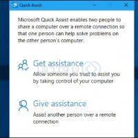 آموزش اتصال و کنترل از راه دور یک کامپیوتر با ابزار Quick Assist ویندوز ۱۰