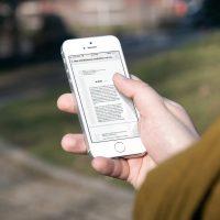چگونه در آیفون یا آیپد یک ایمیل را به صورت PDF ذخیره کنیم؟