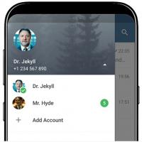 دانلود آپدیت جدید تلگرام Telegram 4.7 پشتیبانی از چندین حساب کاربری