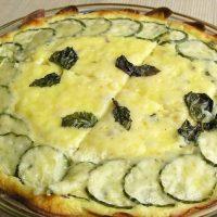طرز تهیه ی پای پنیر و سبزی مدیترانه ای