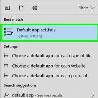 استفاده از تنظیمات پیش فرض برنامه Adobe Acrobat Reader را به عنوان برنامه PDF پیش فرض