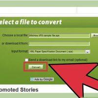نحوه باز کردن فایل های XPS با استفاده از تبدیل کننده ی آنلاین XPS-to-PDF