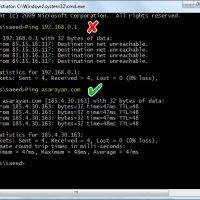 نحوه ی پیدا کردن آدرس IP وب سایت از طریق سیستم ویندوز