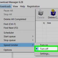 نحوه ی افزایش سرعت دانلود با IDM ( از طریق غیر فعال کردن موارد کاهنده ی سرعت )