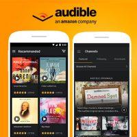 نحوه ی دسترسی به لیست کتاب های مورد علاقه از طریق Audible در اندروید