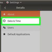 نحوه ی تغییر منطقه ی زمانی در سیستم Ubuntu با استفاده از Graphical User Interface