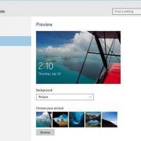 نحوه ی فعال کردن Quick Status Lock Screen Apps در ویندوز ۱۰