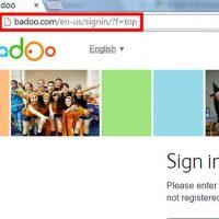 نحوه ی ورود به Badoo با استفاده از حساب فیس بوک