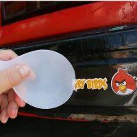 نحوه ی پاک کردن استیکر از ماشین