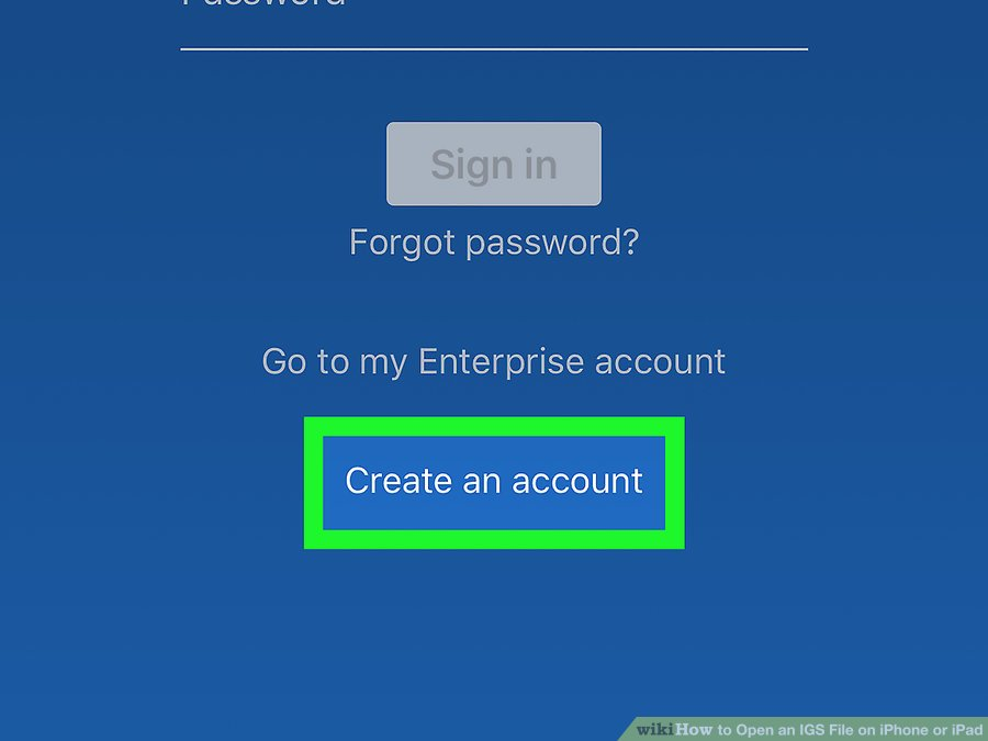 ایجاد حساب کاربری