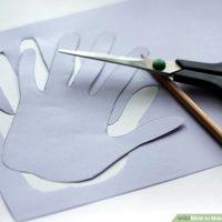 نحوه درست کردن کاردستی قلب بین دو انگشت