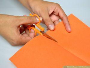 برش کاغذ رنگی