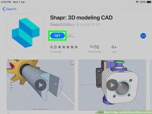 برنامه SHAPR3D
