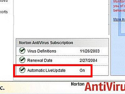 به روز رسانی آنتی ویروس
