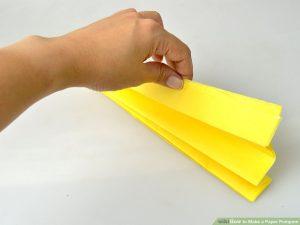 تا زدن کاغذ رنگی