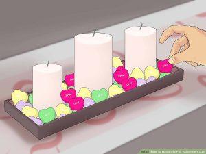 تزئین ظرف شمع