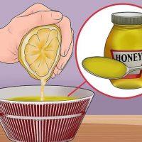 نحوه ی استفاده از ماسک صورت عسل و آبلیمو