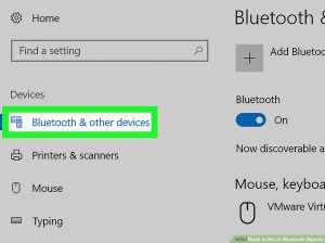 گزینه Bluetooth & other devices