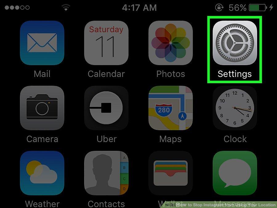 چگونه از طریق دستگاه آیفون دسترسی اینستاگرام به موقعیت مکانی را غیر فعال کنیم؟