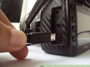 اتصال کابل به دوربین