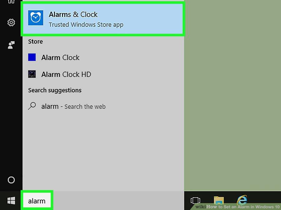 برنامه ی Alarms & Clock