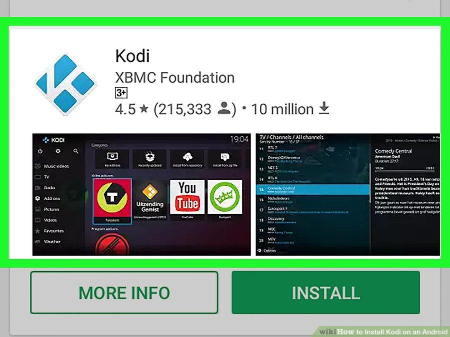 برنامه Kodi