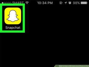 برنامهSnapchat