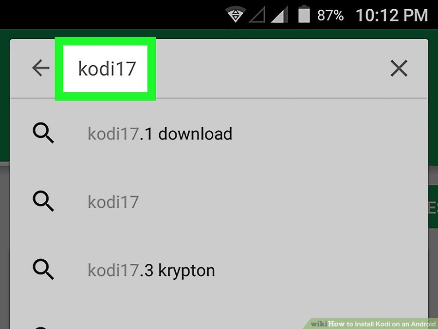 جستجو kodi 17