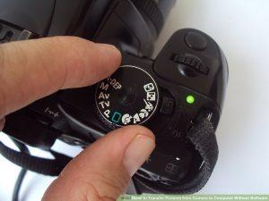 روشن کردن دوربین