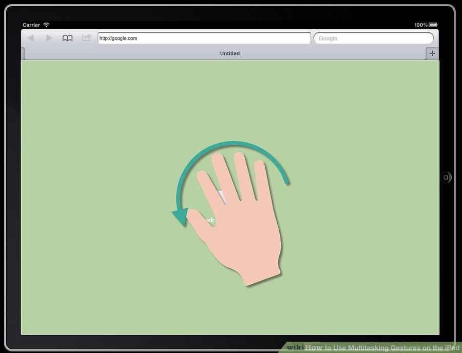 قرار دادن انگشتان