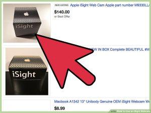متصل کردن iSight