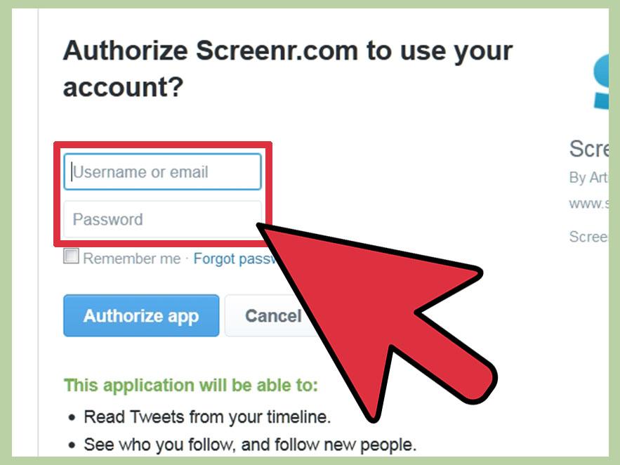 نام کاربری و رمز عبور