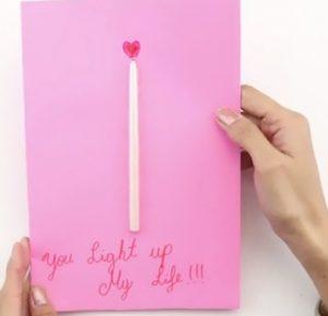 کارت هدیه شمع