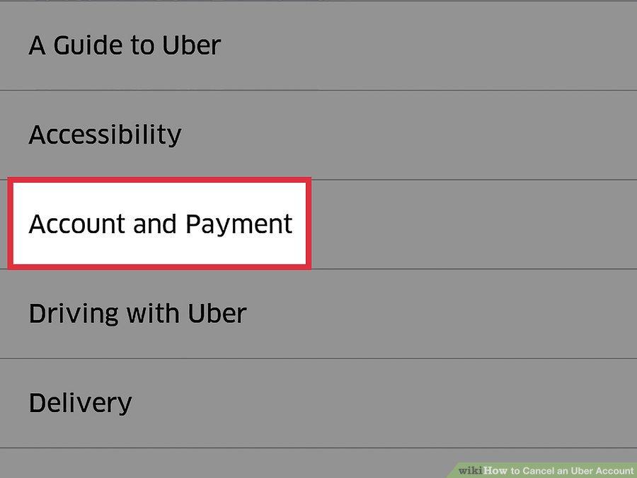 گزینه ی Account and Payment