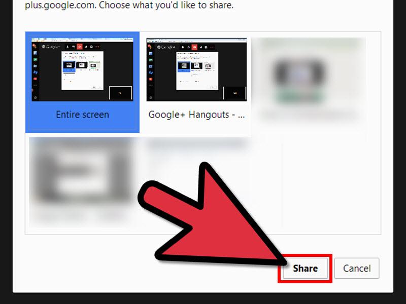 گزینه Share