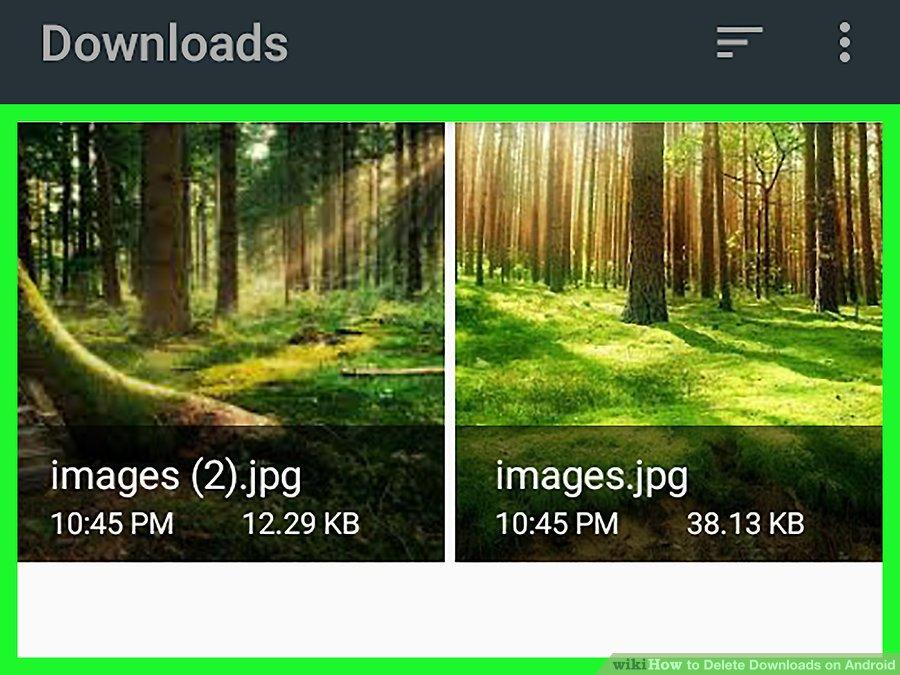 پاک کردن فایل