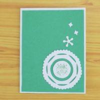 طرز تهیه ی کارت تشکر با استفاده از مهر های تشکر