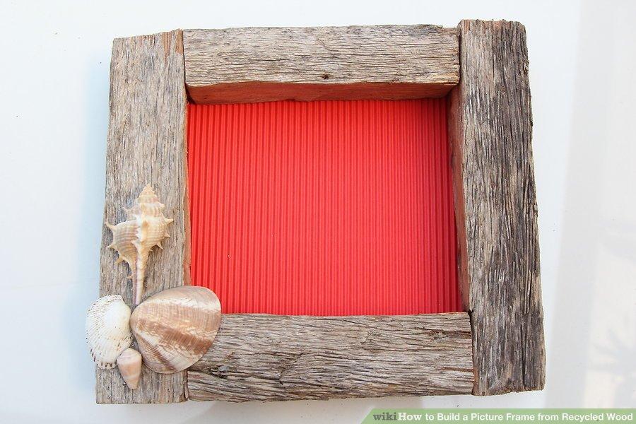 تزئین قاب چوبی