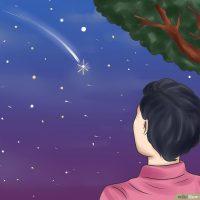 آرزو کردن هنگام دیدن ستاره ی دنباله دار