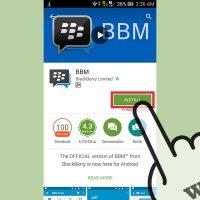 نحوه استفاده از Blackberry Messenger در اندروید