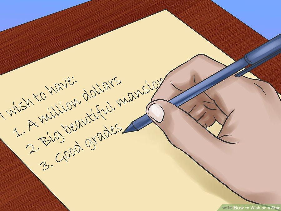 نوشتن آرزو ها